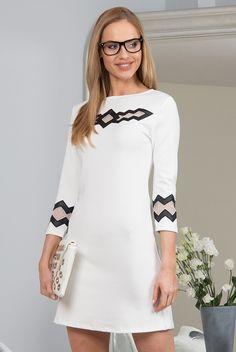 Sukienka krem 9821