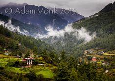 Tango Valley, just out of Thimphu Bhutan. Photo tour of Bhutan 2014