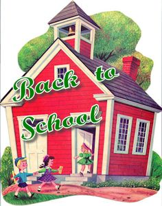 back to school vintage