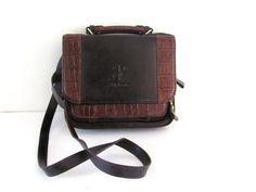 Vintage brown purse / 1990s Bellerose by dirtybirdiesvintage, $24.00