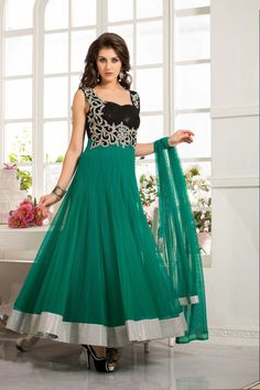 This Black & Sea Green Net Salwar Kameez Is Including The Interesting Glamorous Showing The Sense Of Cute And Graceful. This Desirable Attire Is Showing Some Incredible Embroidery Done With Lace|Resham|Sequins Work. Addsharesale is provide a huge collections for online women clothing products at one place for supplier and seller. www.addsharesale.com