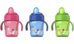 O copo com bico sem BPA SCF752/00 da #PhilipsAVENT tem uma capacidade extraordinária para evitar derrames, independentemente de ser utilizado em casa ou em passeios, e é fácil beber. Os bicos com válvulas são compatíveis com os biberões, tornando-os também anti-gota