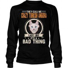 TURKISH ANGORA THEY CALL ME CRAZY TURKISH ANGORA CAT LADY LONG SLEEVE TEES T-SHIRTS, HOODIES  ==►►Click To Shopping Now #turkish #angora #they #call #me #crazy #turkish #angora #cat #lady #long #sleeve #tees #Catfashion #Cats #cat #SunfrogTshirts #Sunfrogshirts #shirts #tshirt #hoodie #sweatshirt #fashion #style