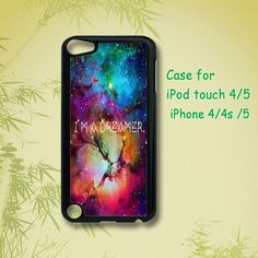 Dreams and galaxy  ipod touch 5 case ipod touch 4 case  by JYCASE