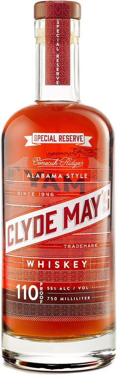 Alabama's official state spirit, this whiskey earned the Gold Medal at the WSWA Tasting Competition in 2012.