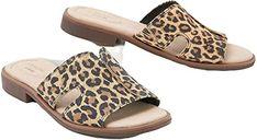 New Clarks Women's Declan Flo Flat Sandal leopard print sandals. ($79.88) findtopgoods offers on top store