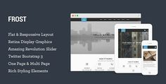 ThemeForest - Frost v1.0.1 - Multipurpose Responsive One Page HTML5