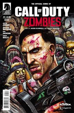 Call of Duty Zombies / 6 / Comic cover / August 2017 (Simon Bisley)