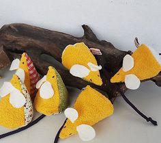 MIC-Maus - Katzenspielzeug mit Baldrian (handmade)