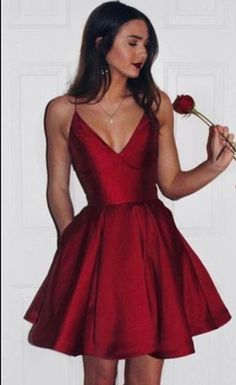 I'm in love with this dress for grad #red #graduation