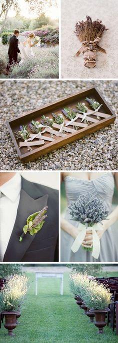 lavender wedding bouquets wedding