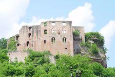 Castle Frankenstein near Kaiserslautern, Germany