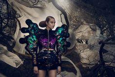 Nikoline Liv Andersen's Work Evokes a Conceptual Vision of Elegance #costume #editorial trendhunter.com