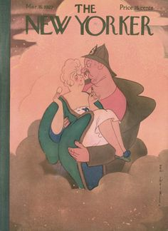 Rea Irvin : Cover art for The New Yorker 213 - 16 March 1929
