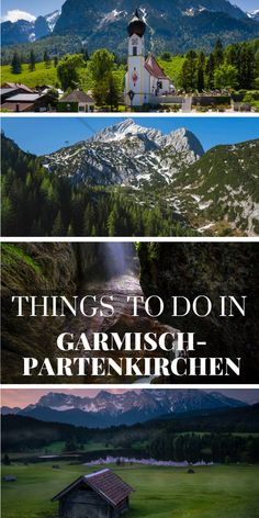 Garmisch Partenkirchen is the perfect place to base yourself to explore southern Germany. From Zugspitze to the Partnach Gorge, there is something for everyone. Visit Germany, Germany Travel, Beautiful Sites, Bavaria Germany, European Travel, Day Trips, Places To See, Travel Destinations, Travel Tips