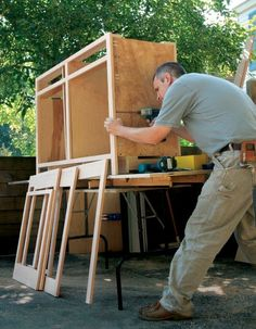 DIY Furniture ~ Pockethole joinery allows you to build