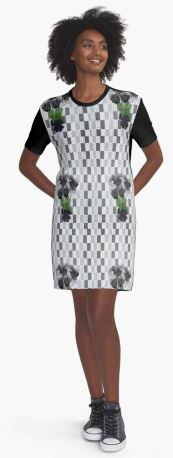 Black Tulips, Carousel, Shirt Dress, T Shirt, My Design, Collections, Women's Fashion, Black And White, Lady