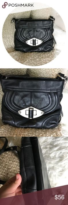 B Makowsy Leather Crossbody B. Makowsky leather purse, 9/10 condition. Minor scuff on back, but in overall wonderful condition. Can't see it when you're wearing it :) let me know if you have any questions! Save 10% when Bundled b. makowsky Bags Crossbody Bags