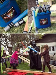 Kids Star Wars themed party!
