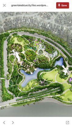 Landscape Plans, Urban Landscape, Landscape Design, Garden Design, Concept Architecture, Landscape Architecture, Organic Farming, Organic Gardening, Resort Plan