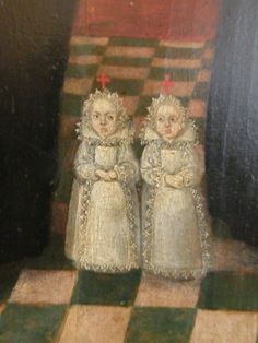 Eleonore of Solms-Laubach (1602-1602) and Magdalena of Solms-Laubach (1603-1603), daughters of Albrecht Otto I of Solms-Laubach and his wife Anna of Hesse-Darmstadt.