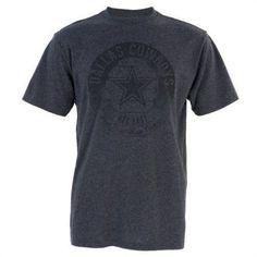 NFL Dallas Cowboys Men's Huber Vintage Tee, Size: XL, Black