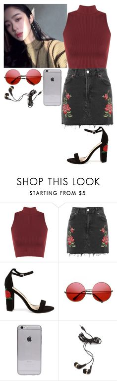 """""""// k.a. //"""" by goner-aesthetics ❤ liked on Polyvore featuring WearAll, INDIE HAIR and Forever 21"""