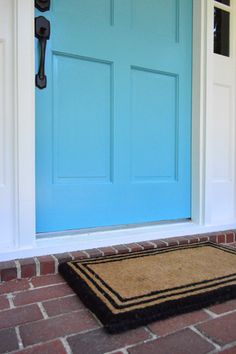 Young House Love | How To Pick A Color And Paint Your Front Door