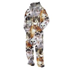 Kittens Jumpsuit ... but seriously, a part of me wants to wear this every day.