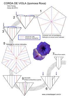 """Diagrama da Flor do Mato """"Corda de Viola"""" - Vera Young pg 1"""