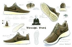 Drawing from the original design of the Nike Roshe Run.