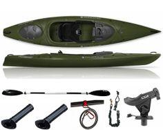 Ascend d12 fishing kayak review fishing kayak reviews for Cabela s advanced angler 120 trolling motor