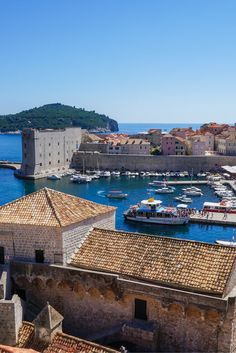 Old Town of Dubrovnik, Croatia, a UNESCO World Heritage Site.