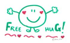 Hugs cost nothing and give us so much in return!