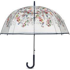 Vera Bradley Auto Open Bubble Umbrella ($44) ❤ liked on Polyvore featuring accessories, umbrellas, coral floral, multicolor umbrella, bubble umbrella, colorful umbrellas, floral print umbrella and vera bradley