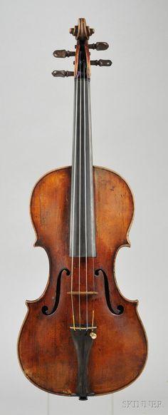 Italian Violin, Pietro Guarneri, Venice, 1734,