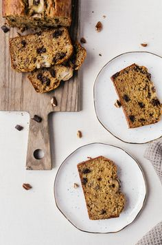 A moist,  healthy banana bread that is full of flavor. No one will ever realize that this bread is refined sugar free