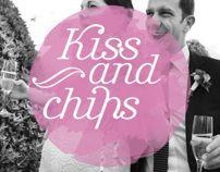 Kissandchips by MIREIA PONS-LLORACH, via Behance