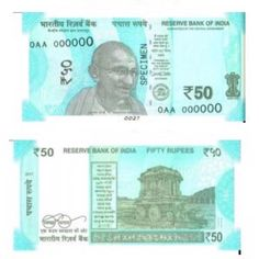 #RBI to issue new Rs. 50 banknotes shortly, old notes to remain valid.