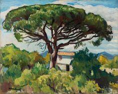 """Марке особенно знаменит как пейзажист. По словам его друга Жоржа Бессона: """"От Парижа до Гамбурга, от Неаполя до Осло, от Марселя до Пирея..."""
