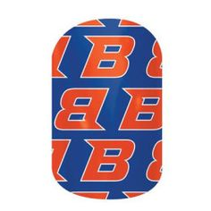 Boise State University Fans! These nail wraps are perfect for you!  Click the picture to get them now! No dry time, non-toxic, vegan, allergy friendly and lasts about 2 weeks on your mani!