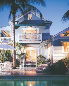 50 New Florida Beach House Exterior Key West Key West Florida, Florida Keys, Florida Beaches, Florida Usa, Key West Vacations, Key West Style, Beach House Decor, Beach Houses, Coastal Living