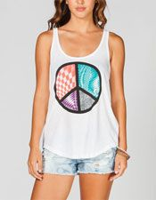 Peace N Stuff Womens Tank - $25