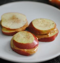 Apple Sandwiches. A healthy snack!