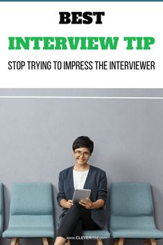 Best Interview Tip: Stop Trying to Impress the Interviewer. Most job applicants make this critical mistake that costs them the job offer. Don't try to impress the interviewer (but do THIS instead). Best Interview Tips, Job Interview Questions, Interview Preparation, Resume Work, Resume Writing, Career Quotes, Career Advice, Social Media Trends, Job Offer