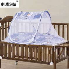Free shipping 2016 High Quality Portable Pop Up Travel Bubble Cot Baby Mosquito Net Crib Bassinet