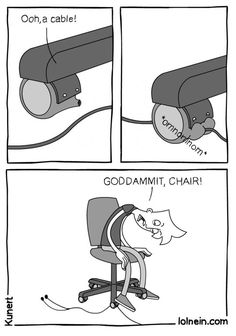 What My Chair Does All The Time