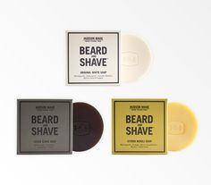 Beard & Shave Soap Trio