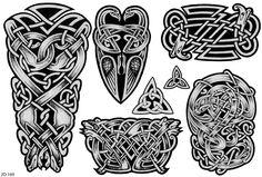 Black Celtic Tattoo Designs photo - 2