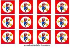 Mario party printables - free